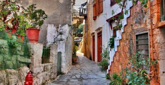 alleys-chania